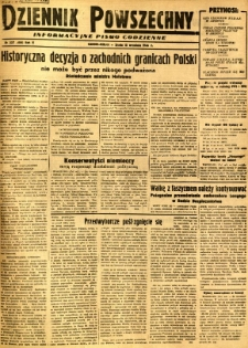 Dziennik Powszechny, 1946, R. 2, nr 257