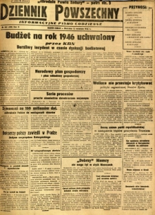 Dziennik Powszechny, 1946, R. 2, nr 261