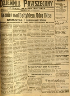 Dziennik Powszechny, 1946, R. 2, nr 285