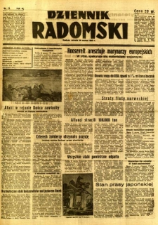 Dziennik Radomski, 1942, R. 3, nr 73