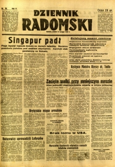 Dziennik Radomski, 1942, R. 3, nr 36