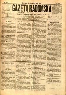Gazeta Radomska, 1889, R. 6, nr 24