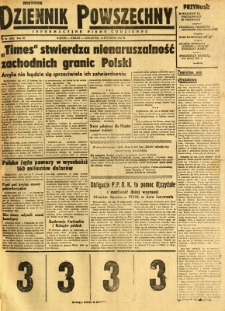 Dziennik Powszechny, 1947, R. 3, nr 16