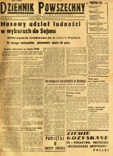 Dziennik Powszechny, 1947, R. 3, nr 20