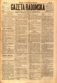 Gazeta Radomska, 1889, R. 6, nr 35