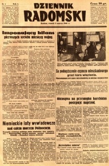 Dziennik Radomski, 1940, R. 1, nr 4