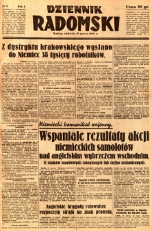 Dziennik Radomski, 1940, R. 1, nr 9