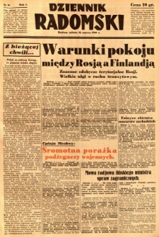 Dziennik Radomski, 1940, R. 1, nr 13