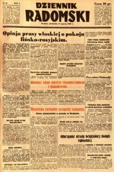 Dziennik Radomski, 1940, R. 1, nr 14