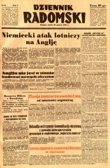 Dziennik Radomski, 1940, R. 1, nr 16