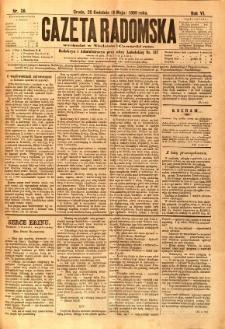 Gazeta Radomska, 1889, R. 6, nr 38