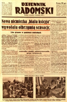 Dziennik Radomski, 1940, R. 1, nr 28