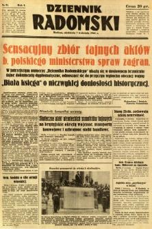 Dziennik Radomski, 1940, R. 1, nr 31