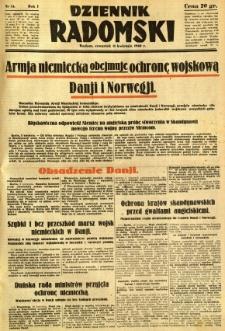 Dziennik Radomski, 1940, R. 1, nr 34