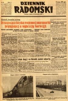 Dziennik Radomski, 1940, R. 1, nr 36