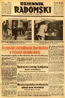 Dziennik Radomski, 1940, R. 1, nr 37