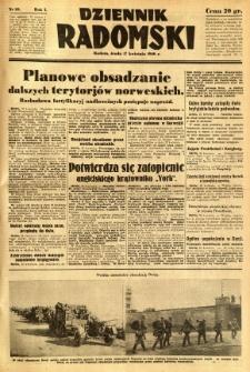 Dziennik Radomski, 1940, R. 1, nr 39