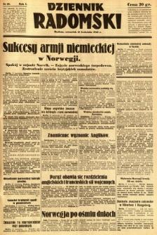 Dziennik Radomski, 1940, R. 1, nr 40