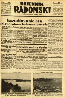 Dziennik Radomski, 1940, R. 1, nr 43