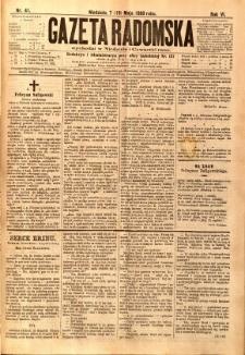 Gazeta Radomska, 1889, R. 6, nr 41