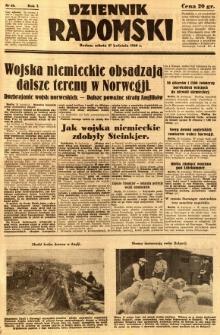 Dziennik Radomski, 1940, R. 1, nr 48