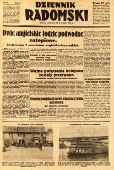 Dziennik Radomski, 1940, R. 1, nr 49