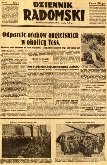 Dziennik Radomski, 1940, R. 1, nr 50