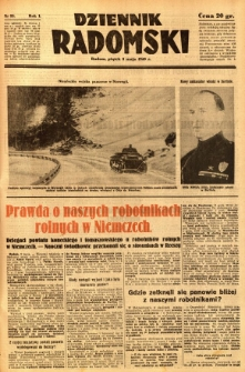Dziennik Radomski, 1940, R. 1, nr 53