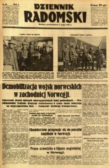 Dziennik Radomski, 1940, R. 1, nr 55