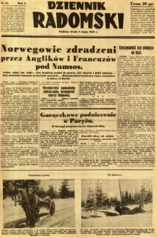 Dziennik Radomski, 1940, R. 1, nr 56