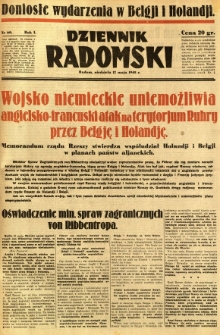 Dziennik Radomski, 1940, R. 1, nr 60