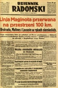 Dziennik Radomski, 1940, R. 1, nr 66