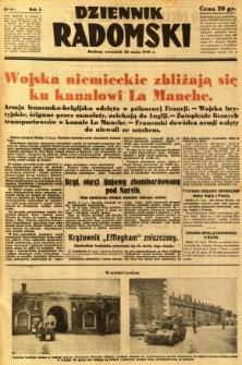 Dziennik Radomski, 1940, R. 1, nr 69