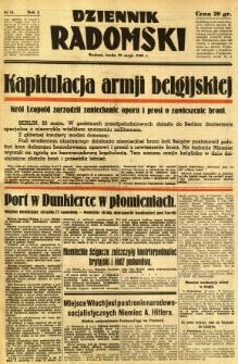 Dziennik Radomski, 1940, R. 1, nr 73