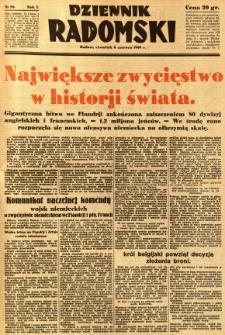 Dziennik Radomski, 1940, R. 1, nr 80