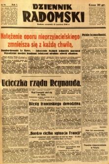 Dziennik Radomski, 1940, R. 1, nr 86