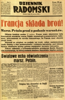 Dziennik Radomski, 1940, R. 1, nr 91