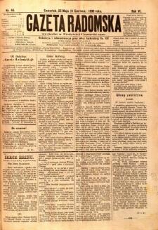 Gazeta Radomska, 1889, R. 6, nr 46