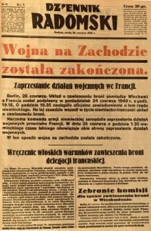 Dziennik Radomski, 1940, R. 1, nr 97