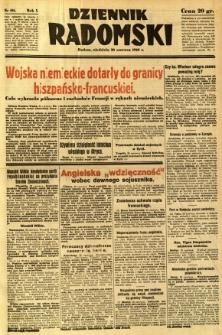 Dziennik Radomski, 1940, R. 1, nr 101
