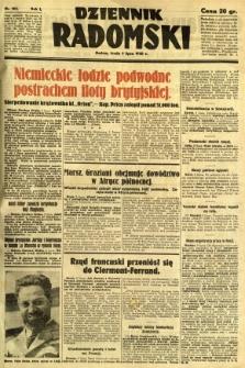 Dziennik Radomski, 1940, R. 1, nr 103