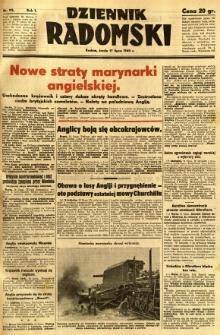 Dziennik Radomski, 1940, R. 1, nr 115