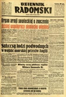 Dziennik Radomski, 1940, R. 1, nr 127