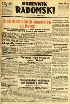 Dziennik Radomski, 1940, R. 1, nr 128