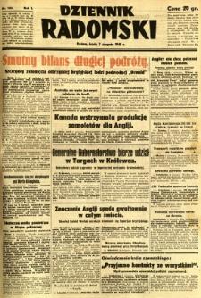 Dziennik Radomski, 1940, R. 1, nr 133