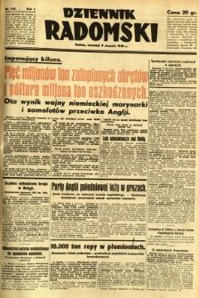 Dziennik Radomski, 1940, R. 1, nr 134