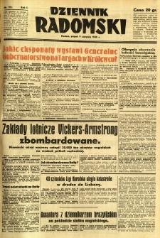 Dziennik Radomski, 1940, R. 1, nr 135