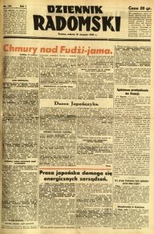 Dziennik Radomski, 1940, R. 1, nr 136