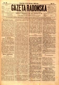 Gazeta Radomska, 1889, R. 6, nr 50