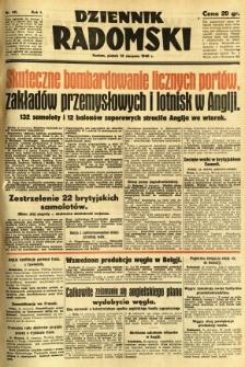 Dziennik Radomski, 1940, R. 1, nr 141